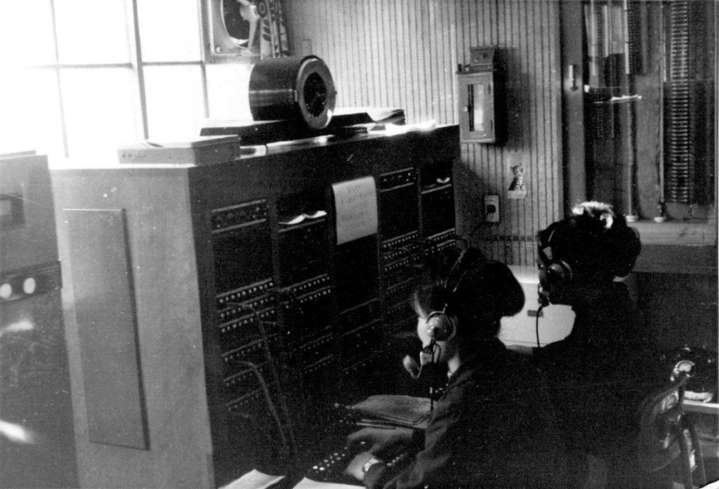 落合有線放送室